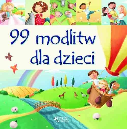 okładka 99 modlitw dla dzieci, Książka | David Juliet