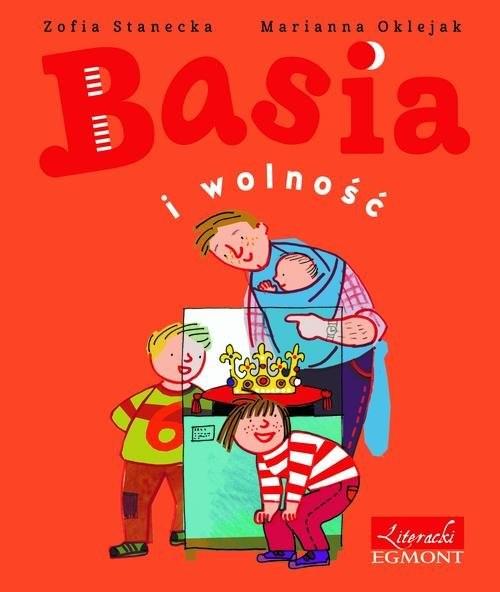 okładka Basia i wolność - 225 rocznica konstytucjiksiążka      Zofia Oklejak Marianna Stanecka