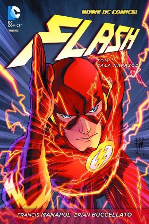 okładka Flash Tom 1 Cała naprzód, Książka | Francis Manapul