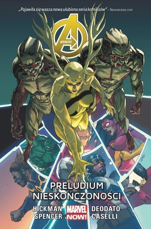 okładka Avengers Preludium nieskończoności Tom 3, Książka | Hickman Jonathan