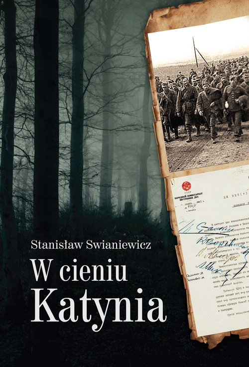 okładka W cieniu Katynia, Książka | Swianiewicz Stanisław