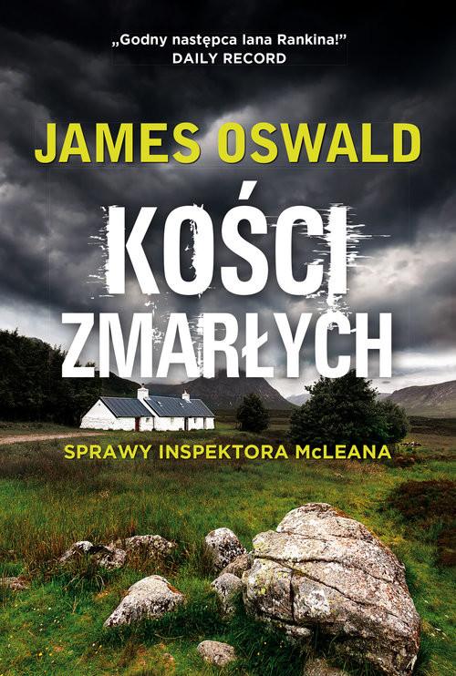okładka Kości zmarłych, Książka | Oswald James