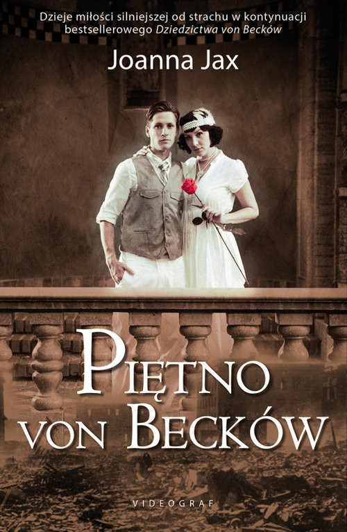 okładka Piętno von Becków, Książka | Jax Joanna