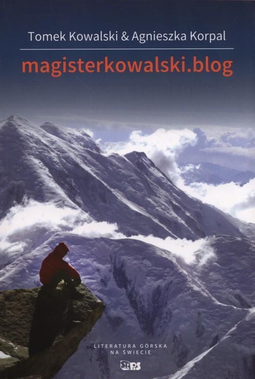 okładka Magisterkowalski.blog Historia przerwanej miłości, Książka | Tomek Kowalski, Agnieszka Korpal