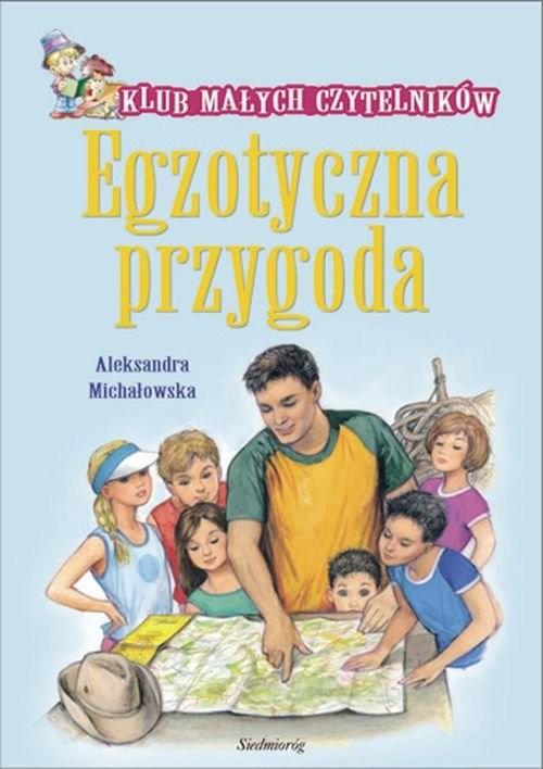 okładka Egzotyczna przygoda, Książka | Aleksandra Michałowska
