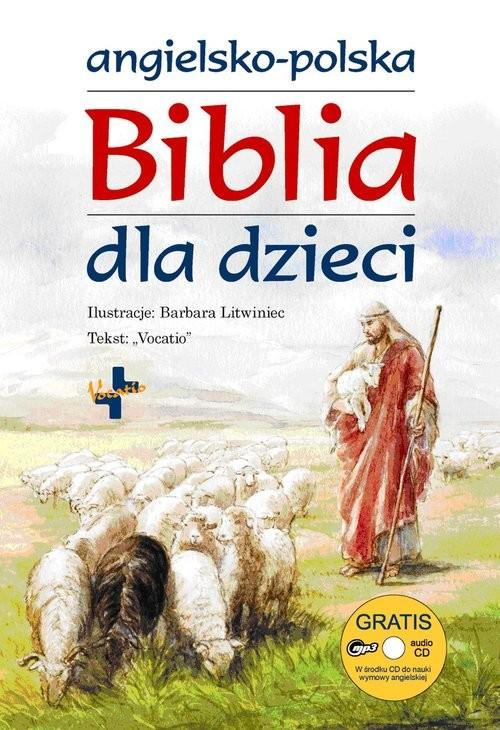okładka Angielsko-Polska biblia dla dzieci, Książka  