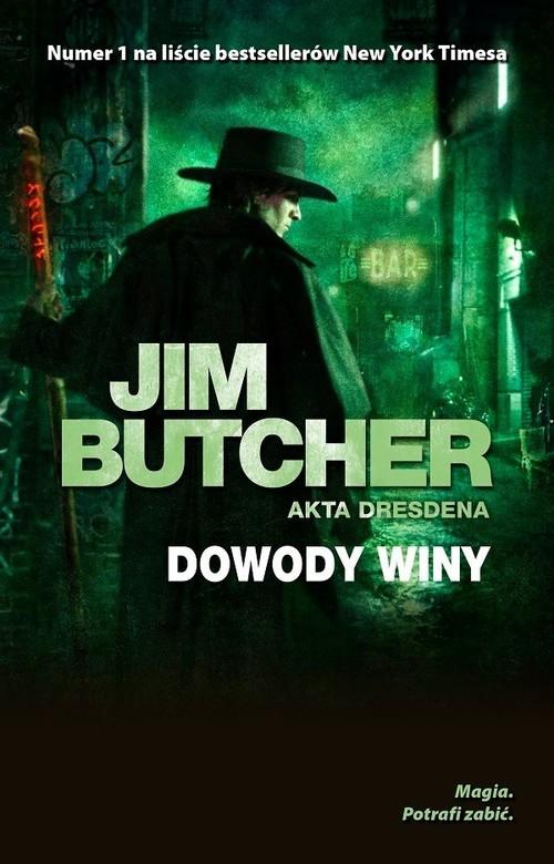 okładka Dowody winy, Książka | Butcher Jim