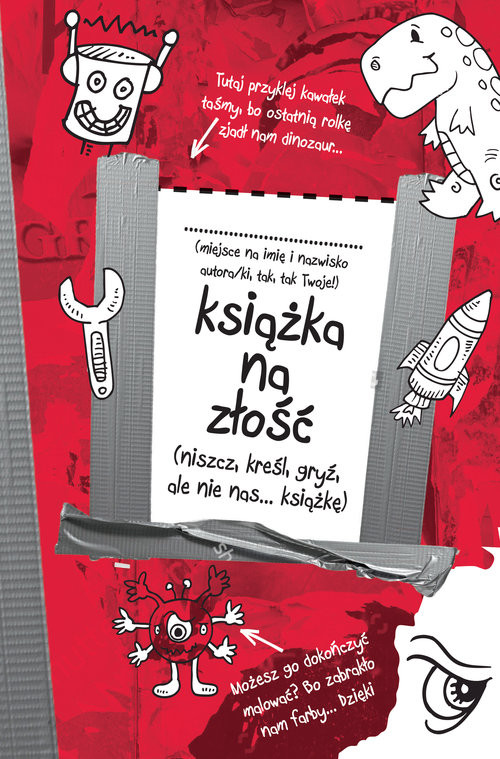 okładka Książka na złość, Książka | Wanat Dariusz