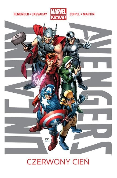 okładka Uncanny Avengers Tom 1 Czerwony cieńksiążka      Remender Rick