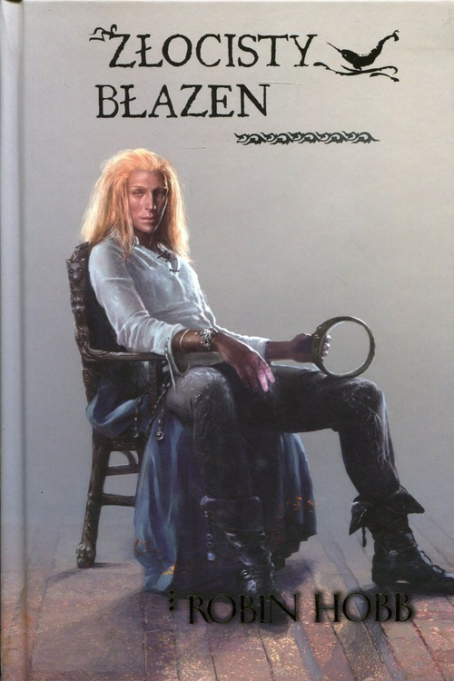 okładka Złocisty błazen Trylogia Złotoskóry Tom 2, Książka | Hobb Robin