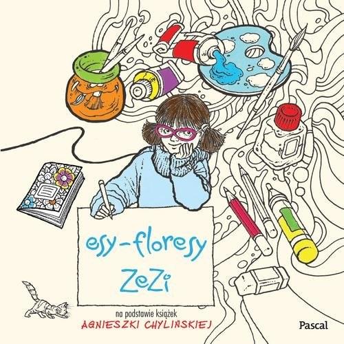 okładka Esy-Floresy Zezi, Książka | Chylińska Agnieszka