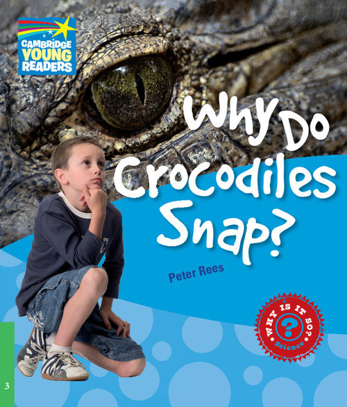 okładka Why Do Crocodiles Snap? 3 Factbook, Książka | Peter Rees