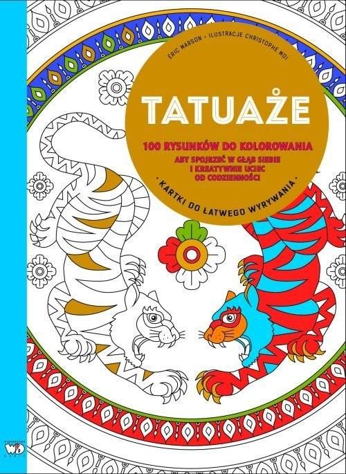 okładka Tatuaże, Książka   Marson Éric