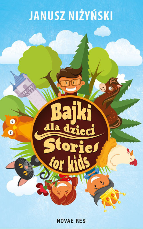 okładka Bajki dla dzieci Stories for kids, Książka | Niżyński Janusz