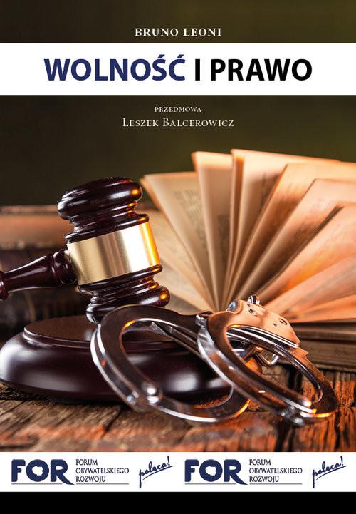 okładka Wolność i prawo, Książka | Leoni Bruno