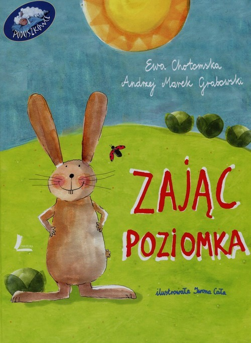 okładka Zając Poziomka, Książka | Andrzej Marek Grabowski, Ewa Chotomska