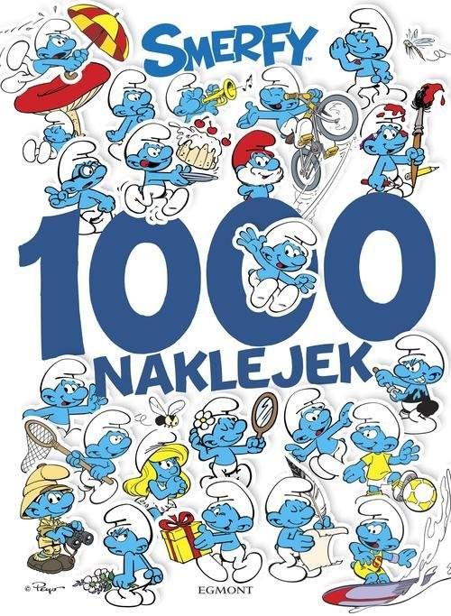 okładka Smerfy 1000 naklejek, Książka | Jamrógiewicz Marta