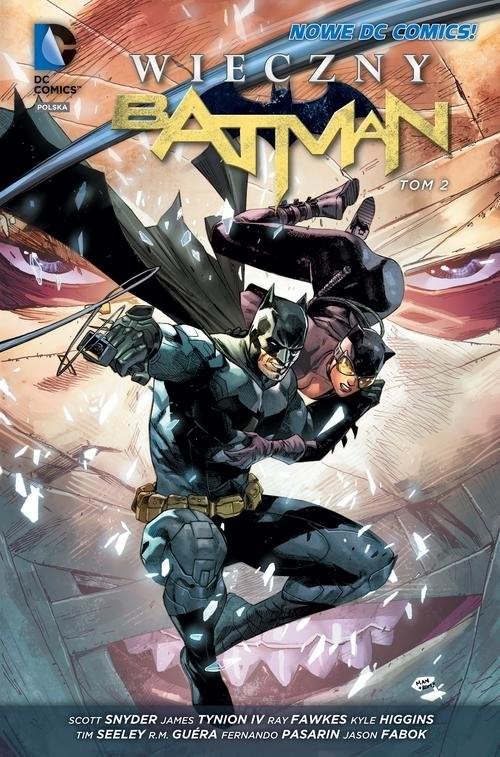 okładka Wieczny Batman, Tom 2, Książka | Scott Snyder, James Tynion IV