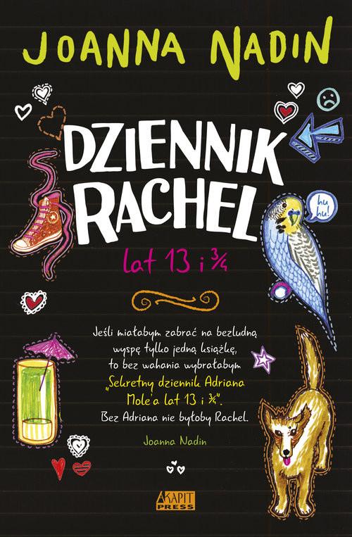 okładka Dziennik Rachel lat 13 i 3/4, Książka | Nadin Joanna