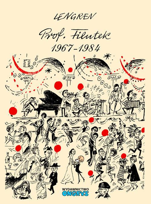 okładka Profesor Filutek 1967-1984 Część 2, Książka | Zbigniew Lengren