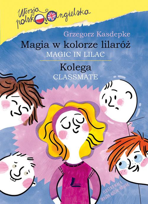 okładka Magia w kolorze lilaróż, Książka | Grzegorz Kasdepke