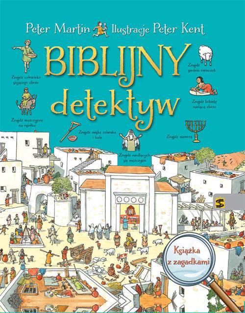 okładka Biblijny detektyw Książka z zagadkami, Książka | Martin Peter