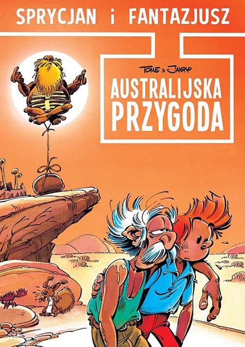 okładka Sprycjan i Fantazjusz Australijska przygoda, Książka | Tome Janry, praca zbiorowa