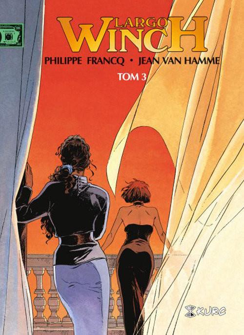 okładka Largo Winch Tom 3 wydanie zbiorcze, Książka   Philippe Francq, Hamme Jean Van