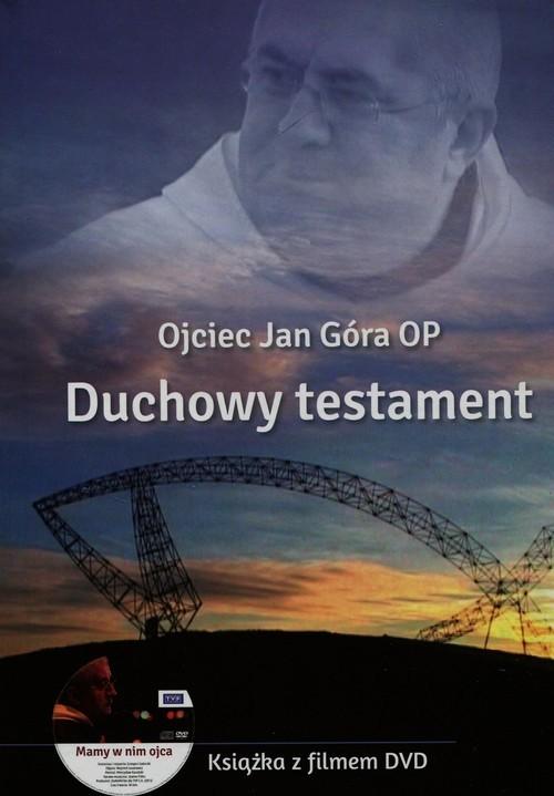 okładka Duchowy testament + DVD, Książka | Góra Jan