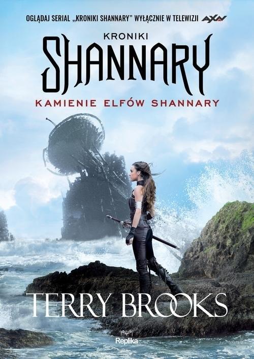 okładka Kroniki Shannary Kamienie elfów Shannary, Książka | Brooks Terry