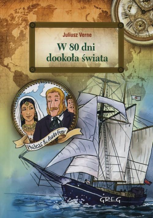 okładka W 80 dni dookoła świata, Książka | Jules Verne