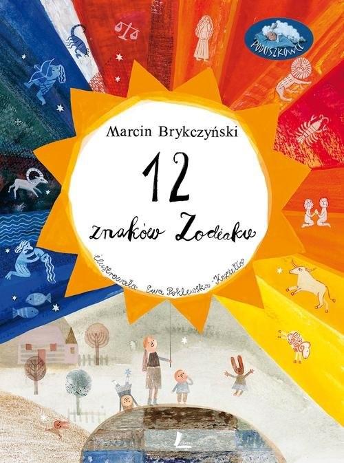 okładka 12 znaków zodiaku, Książka | Brykczyński Marcin