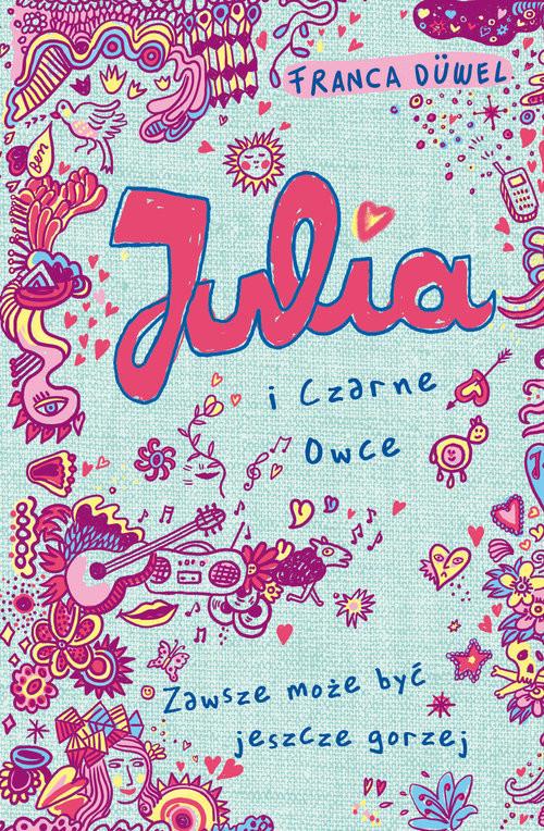 okładka Julia i Czarne Owce, Książka | Duvel Franca