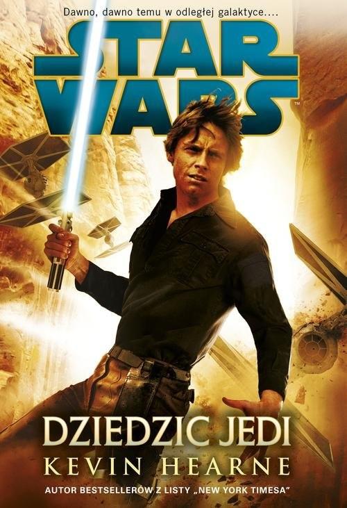 okładka Star Wars Dziedzic Jedi, Książka | Hearne Kevin