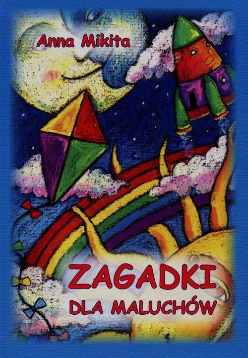 okładka Zagadki dla maluchów, Książka | Mikita Anna