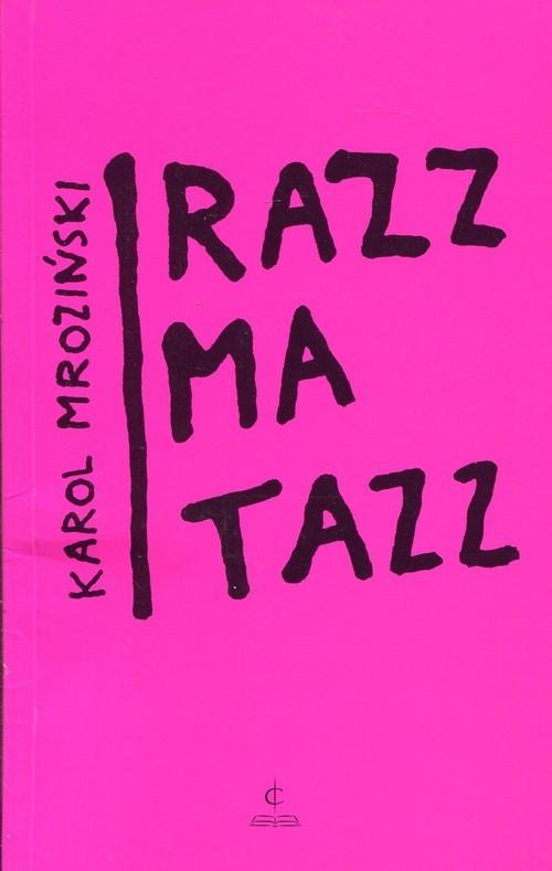okładka Razzmatazz, Książka |