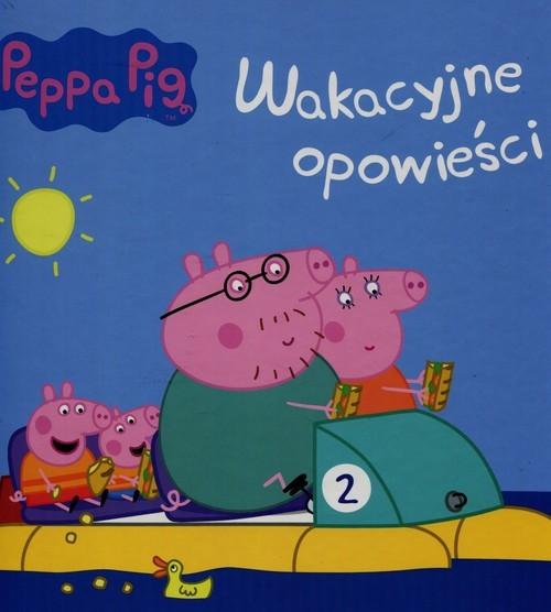 okładka Świnka Peppa Wakacyjne opowieści, Książka  