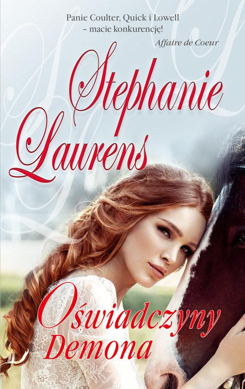 okładka Oświadczyny Demona, Książka | Laurens Stephanie