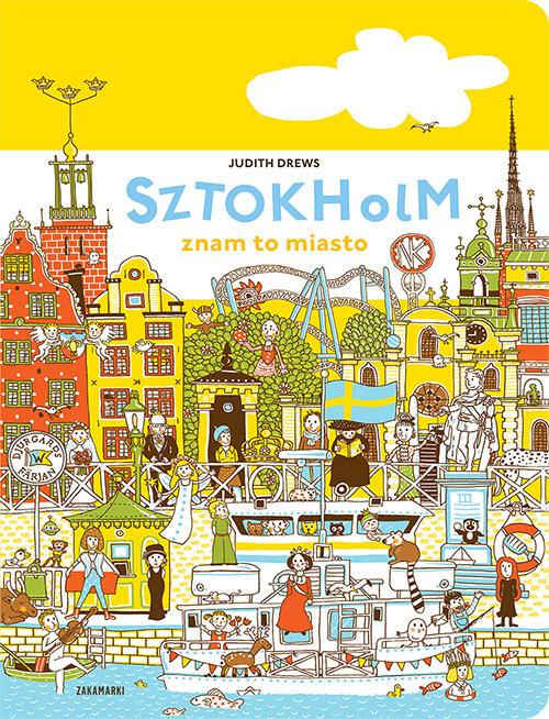 okładka Sztokholm znam to miasto, Książka | Drews Judith