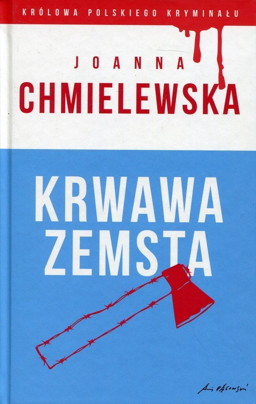 okładka Krwawa zemsta, Książka | Chmielewska Joanna