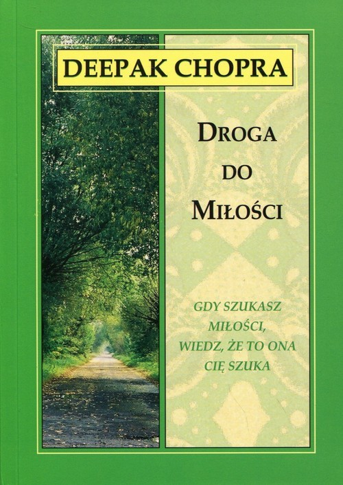 okładka Droga do miłości, Książka | Deepak  Chopra