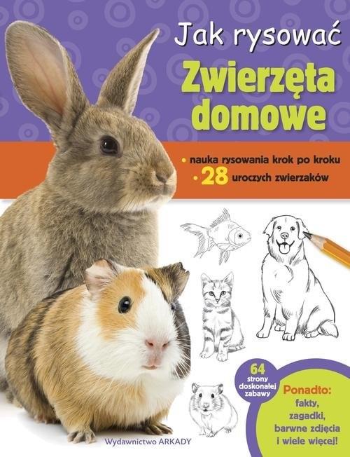 okładka Jak rysować Zwierzęta domowe, Książka | Cuddy Robbin