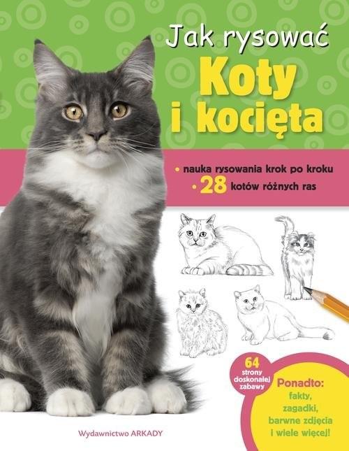 okładka Jak rysować Koty i kocięta, Książka | Cuddy Robbin