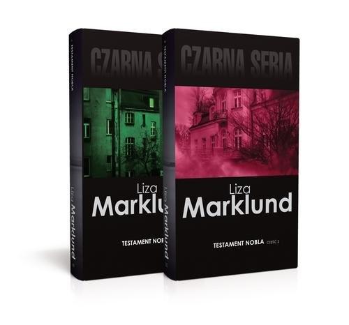okładka Testament Nobla Część 1-2, Książka | Liza Marklund