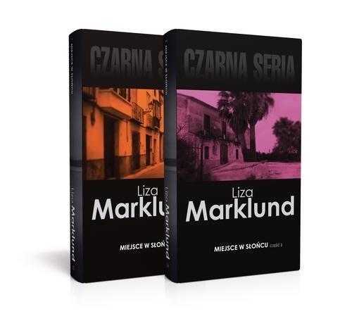 okładka Miejsce w słońcu Część 1 i 2książka      Liza Marklund