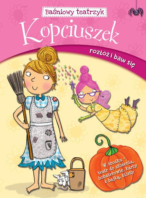 okładka Baśniowy teatrzyk Kopciuszek, Książka |