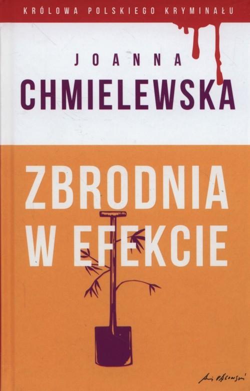 okładka Zbrodnia w efekcie, Książka | Chmielewska Joanna
