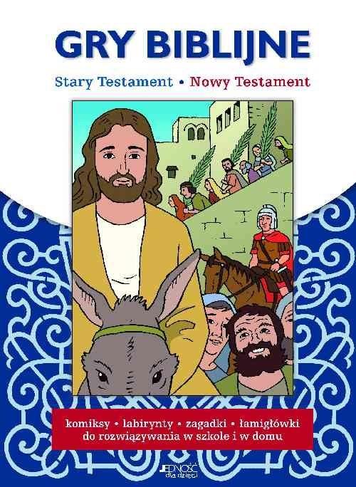 okładka Gry biblijne Stary Testament Nowy Testament, Książka |
