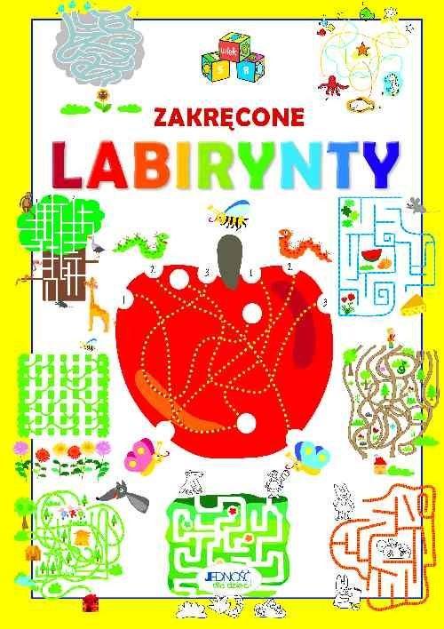 okładka Zakręcone labirynty, Książka | Zanoncelli Anastasia