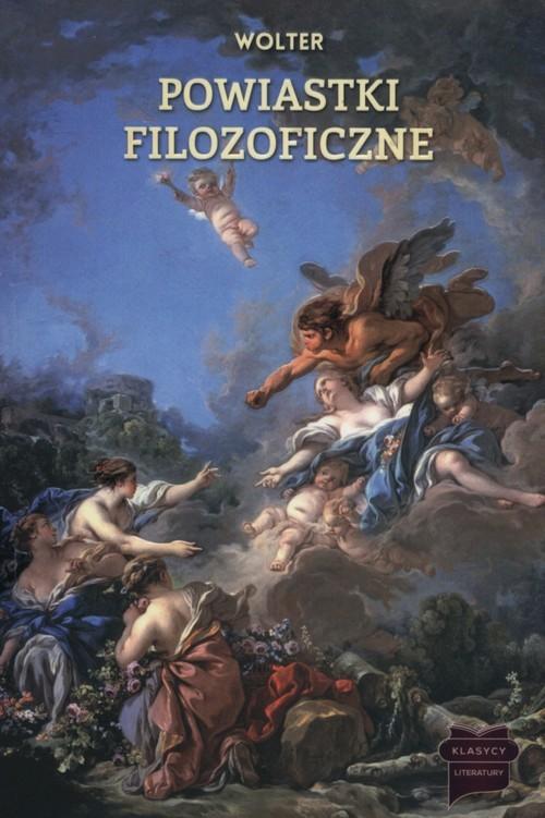 okładka Powiastki filozoficzne, Książka   Wolter